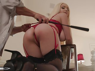 Pest whipped with the addition of tied up via sex for a complete maledom