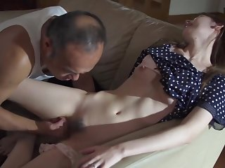 Scalding Prime mover in law Molest with an increment of Fuck Stepdaughter