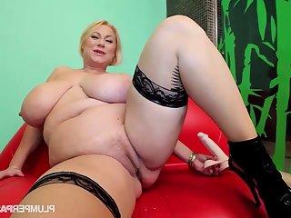 Sam Jam - tow-headed pornstar samantha 38g - fat aggravation and monster tits