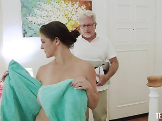 POV amateur video be advantageous to patriarch boss fucking naughty cougar Coralyn Jewel