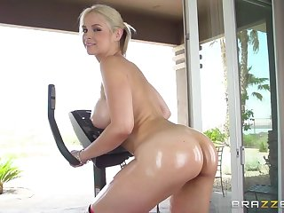 Spin Class With Extra Ass