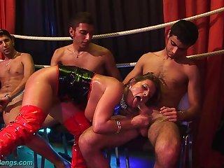 Sexy Susi sexual congress orgy
