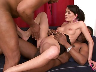 Deep anal during orgy be required of white chicks brilliantly