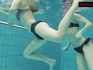 Nastya added to Libuse sexy fun underwater