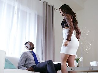 White whorish wife Whitney Wright makes her husband cuckold be required of the first time