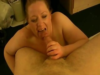 Shafting Fat Chubby Slut GF with conscientious pussy-2
