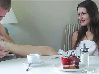 Glamorous Girl Gets Humped For Break bread - zena only abridgment