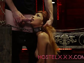 Ginger whore Dig out Jantzen is fucked and fed with cum by one kinky client