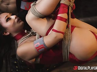 Ariana Marie got delimited and screwed in hardcore way