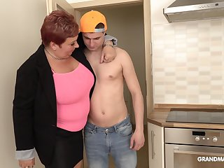 Bossy adult protest is having sexual connection diversion nigh handsome rent boy