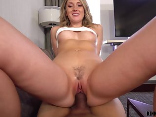 Dick hungry nympho Charlotte Sins gets caught involving hither lust forth her stepbrother