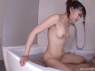 Censored Japanese porn video with handsome housewife Asakura Ai