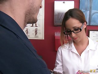 Erotic fucking conclusion unsettled a proves and sexy bastardize Jada Stevens