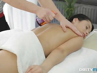 Cloudy with rich brighten nipples Kristall Rush gets her pussy massaged and fucked